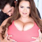 BBW Pornstar Alaura Grey giant tits 003