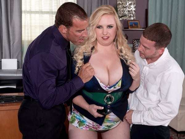 bbw nikky wilder threesome