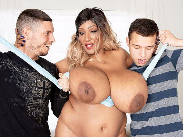 africa sexxx black BBW threesome